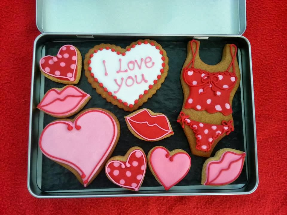 sexy valentines day cookies