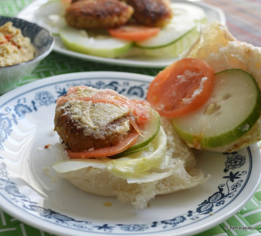 Falafel ~ The Healthier Way