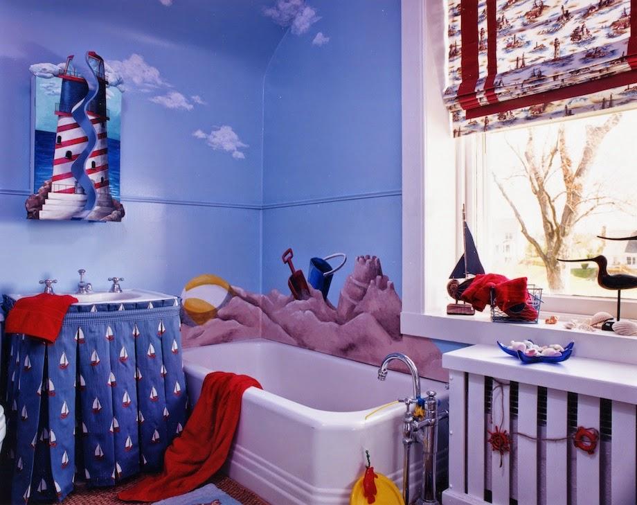 Bathroom Themes beach themed kids
