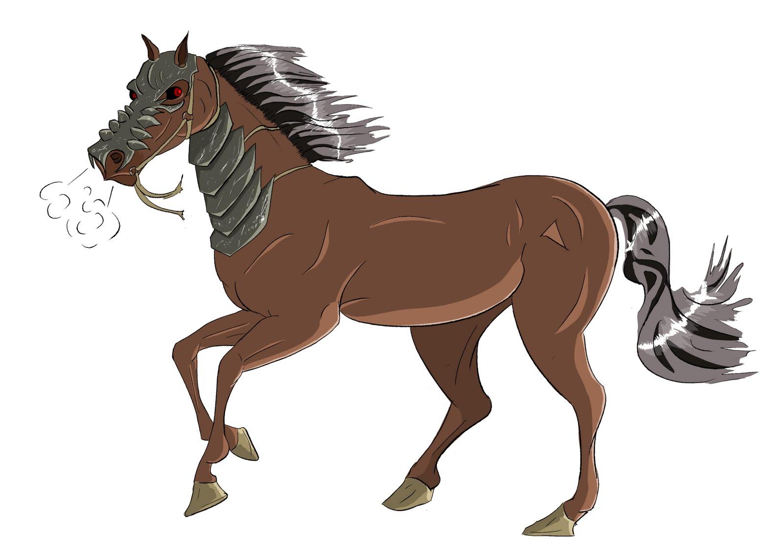 Horse Cartoon Ashley's Ar...