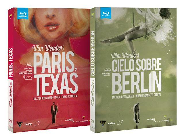 A la venta en Blu-ray y DVD 'París, Texas' y 'Cielo sobre Berlín'