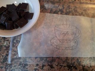 Decorar con chocolate
