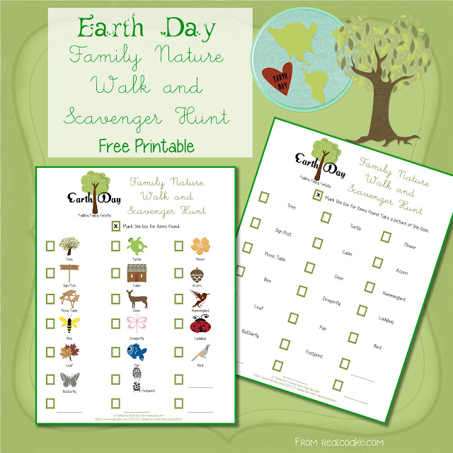 Family Fun ~ Earth Day Activity #FamilyFun #EarthDay #Activities #RealCoake