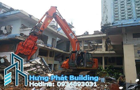 Chi phí phá dỡ nhà cũ Hưng Phát