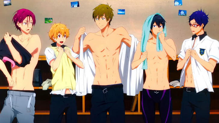 Free Anime Iwatobi Swim Club