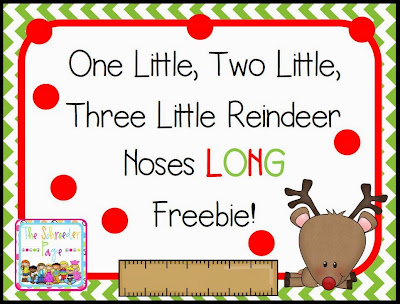 Reindeer Lessons and a Freebie! The Schroeder Page