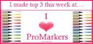 Top 3 I♥ProMarker Challenge