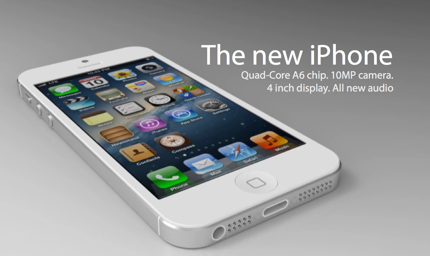 the new iphone iphone 5 microbuzz