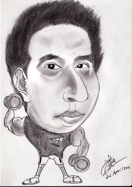 lukisan karikatur
