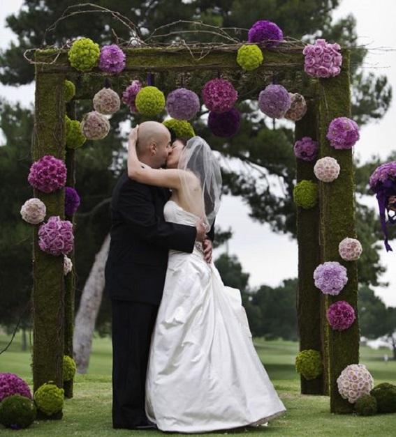 Window Wedding Altar: Cosas De La Abuela: Flores Otoñales Llenas De Color