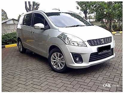 Mobil Bekas Jakarta Murah : Suzuki Ertiga Gl At 2014