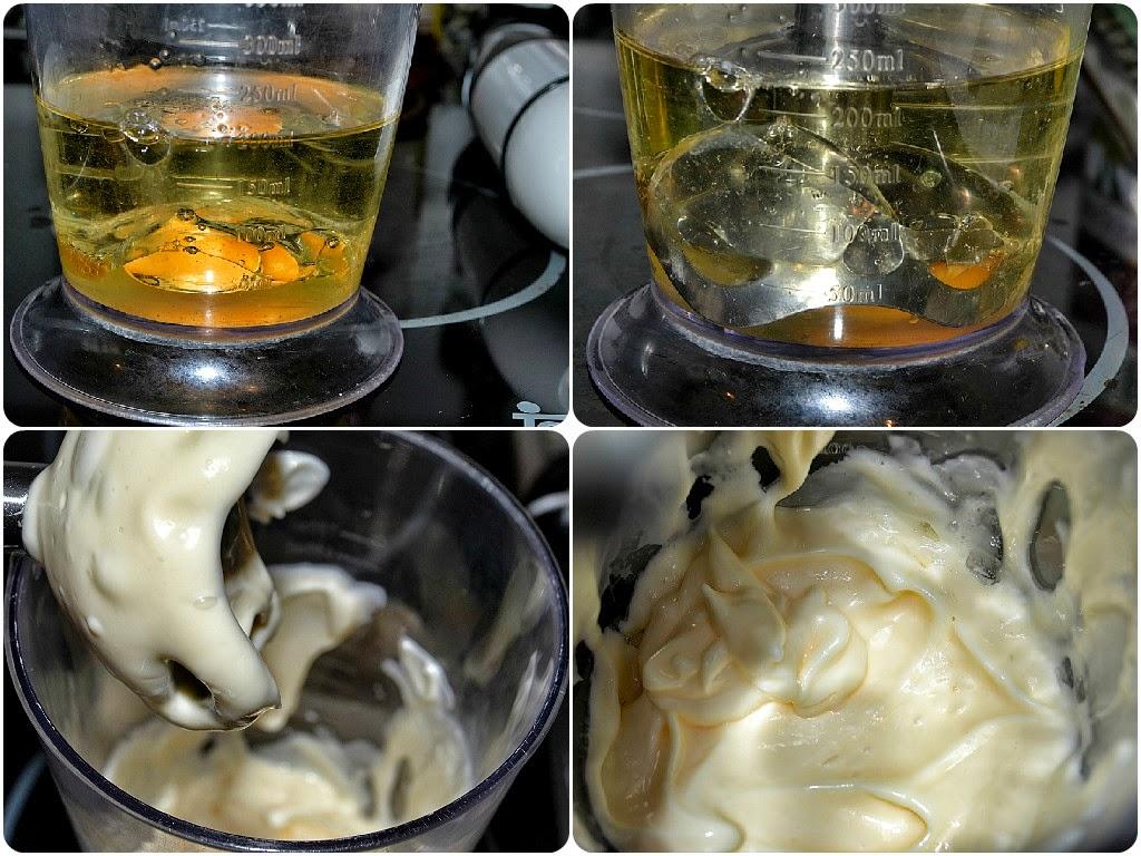 paso a paso elaboración mayonesa casera