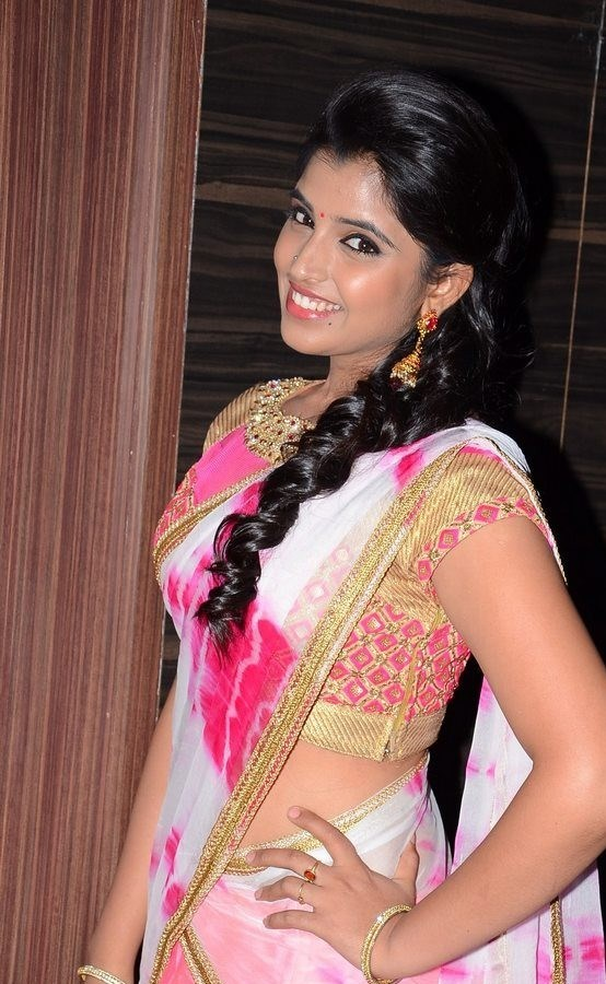 Anchor Shyamal - Jyotilakshmi Audio Function saree Pics