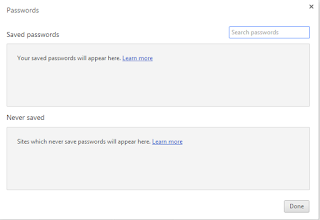 deletion steps for passwords in chrome browser