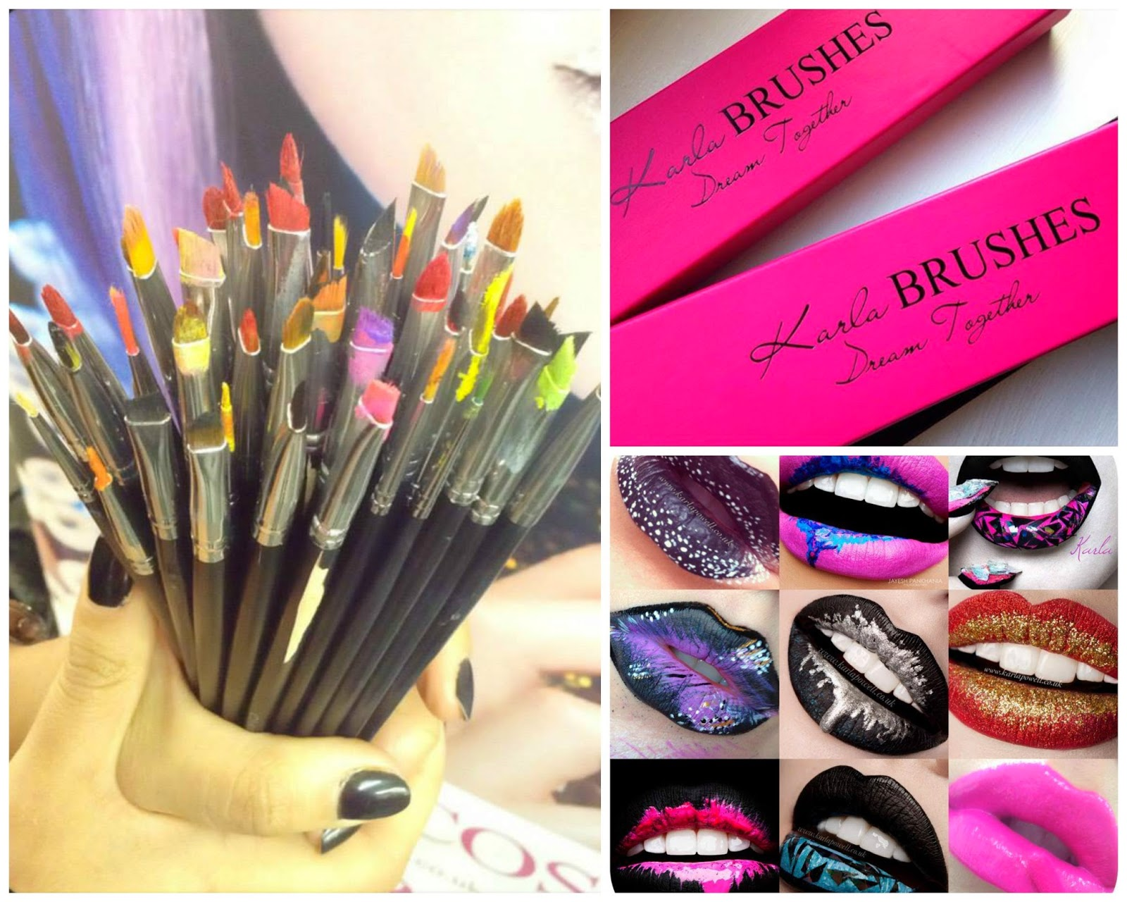 Karla Powell, Karla Cosmetics, Beauty, correct tools, daily make up brushes, how to create flawless lip make up, make up brush collection, using make up brushes, why do I need make up brushes,