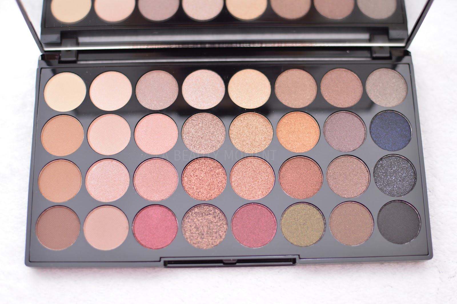 Makeup Revolution Ultra 32 Eyeshadow Palette Review Review Makeup ...