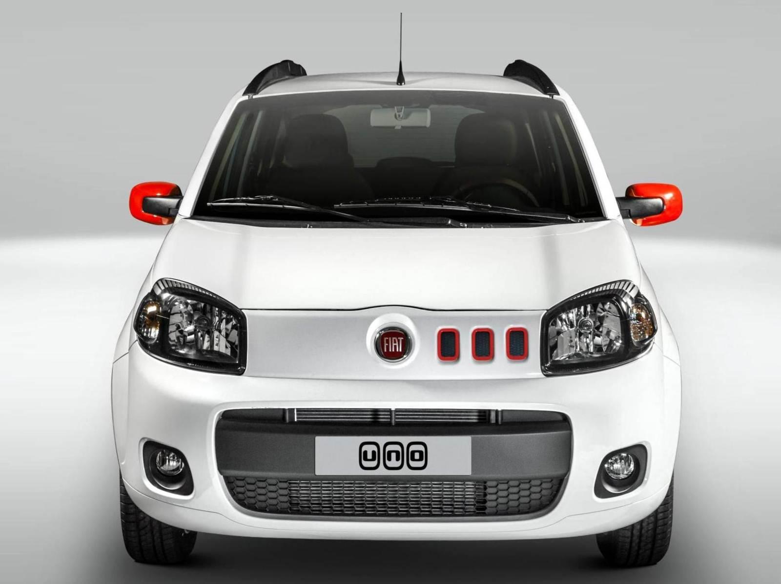 Novo Fiat Uno 2014 - fotos, preços e especificações