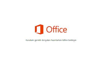 office 2013 kurulum