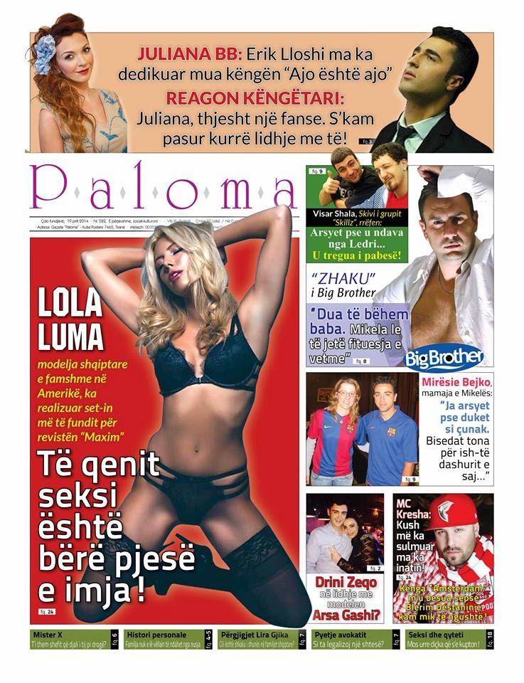 Revista PALOMA - 19 Prill 2014