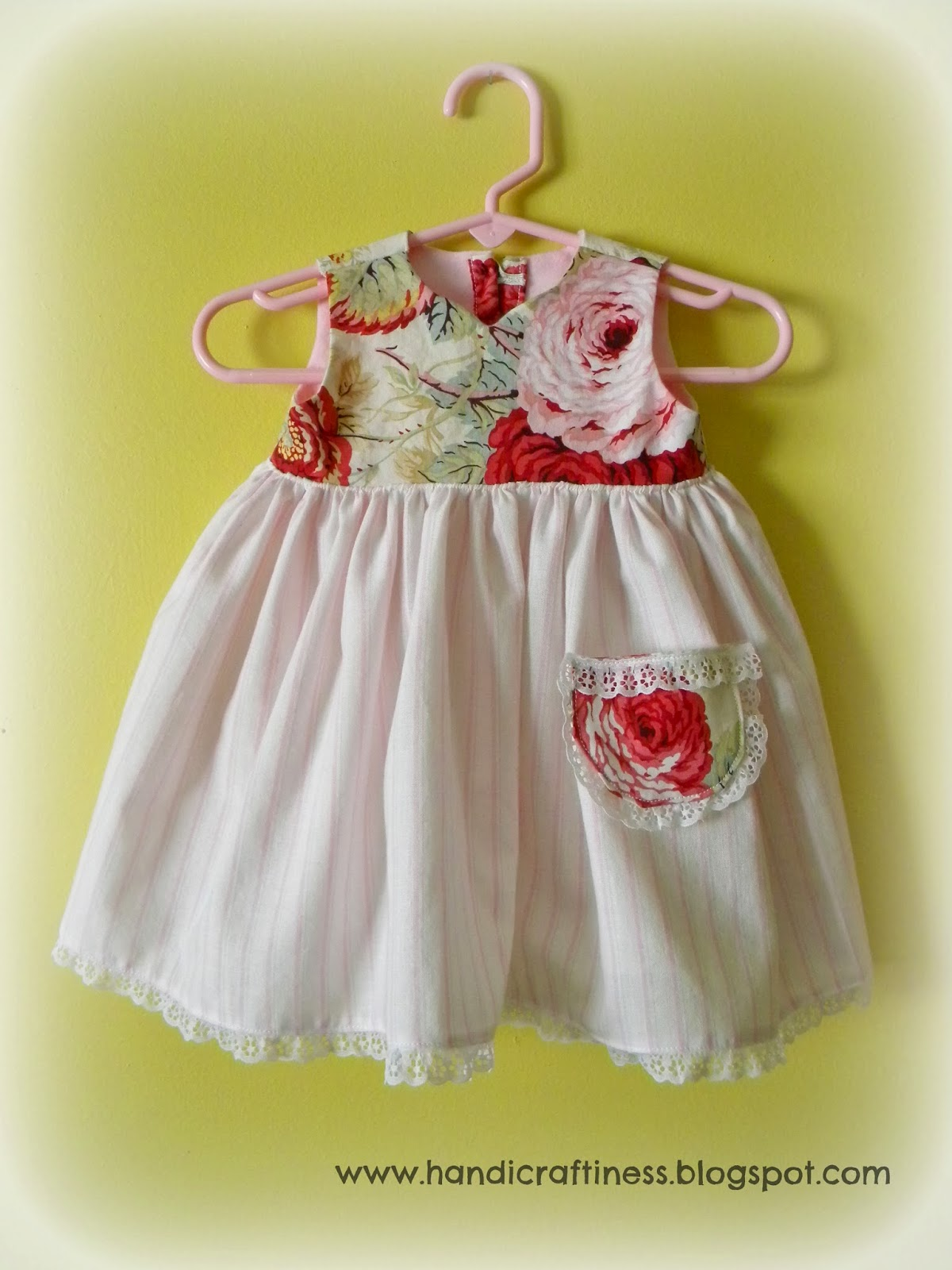 The Pretty Kitty Studio Spring Baby Dresses for a New Baby
