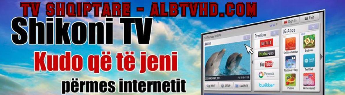 Tv Shqip Live HD | WWW.ALBTVHD.COM