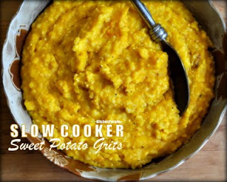 Slow Cooker Sweet Potato Grits (or Pumpkin Grits or Butternut Squash Grits)