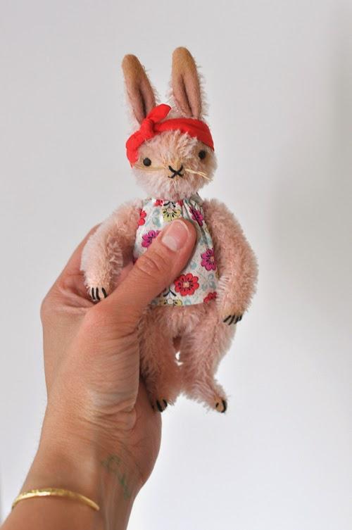 mohair, heritage, rabbit, handmade