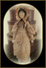 Wooden Tuck Comb Doll