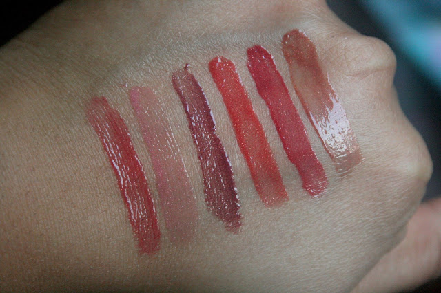 Burt's Bees 100% Natural Lip Gloss Summer Twilight, Rosy Dawn, Starry Night, Evening Glow, Ruby Moon, Sweet Sunset