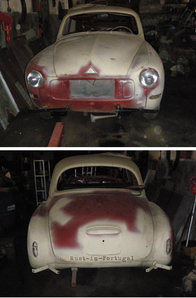 Rip Rust In Portugal 1959 Renault Fregate R1104