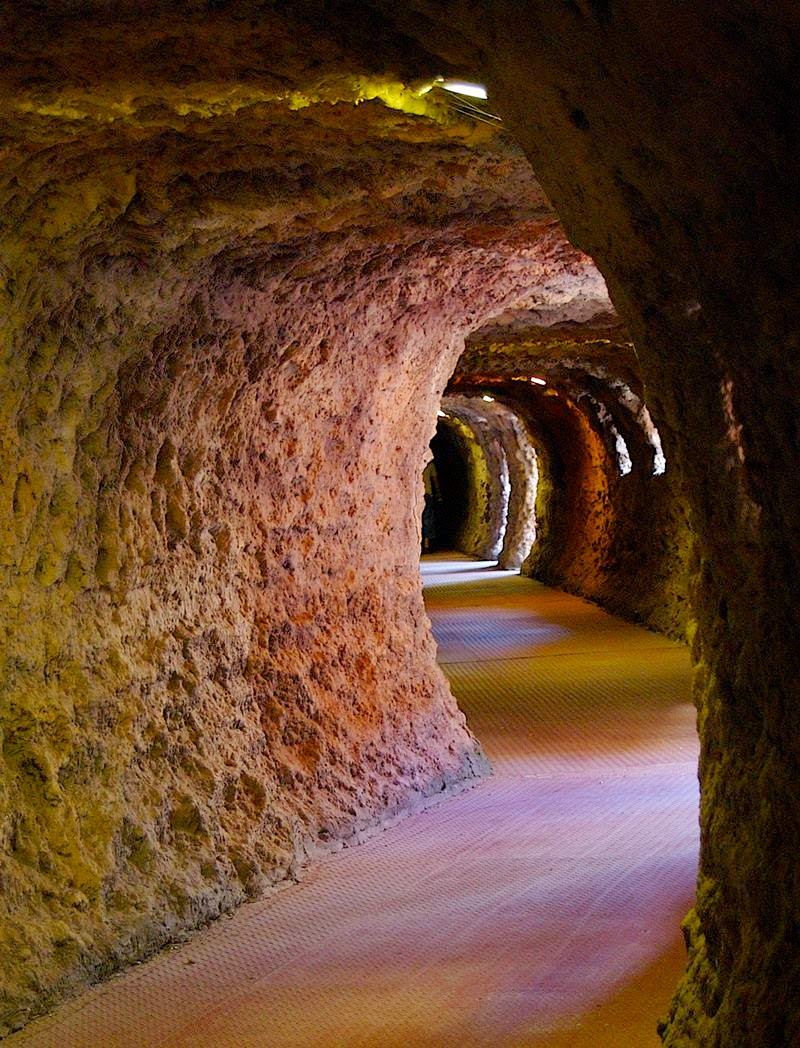 Tierra Santa Tunnels.