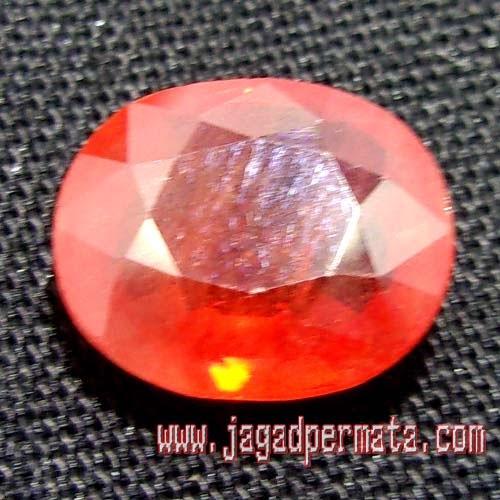 Batu Permata Padparadscha Sapphire