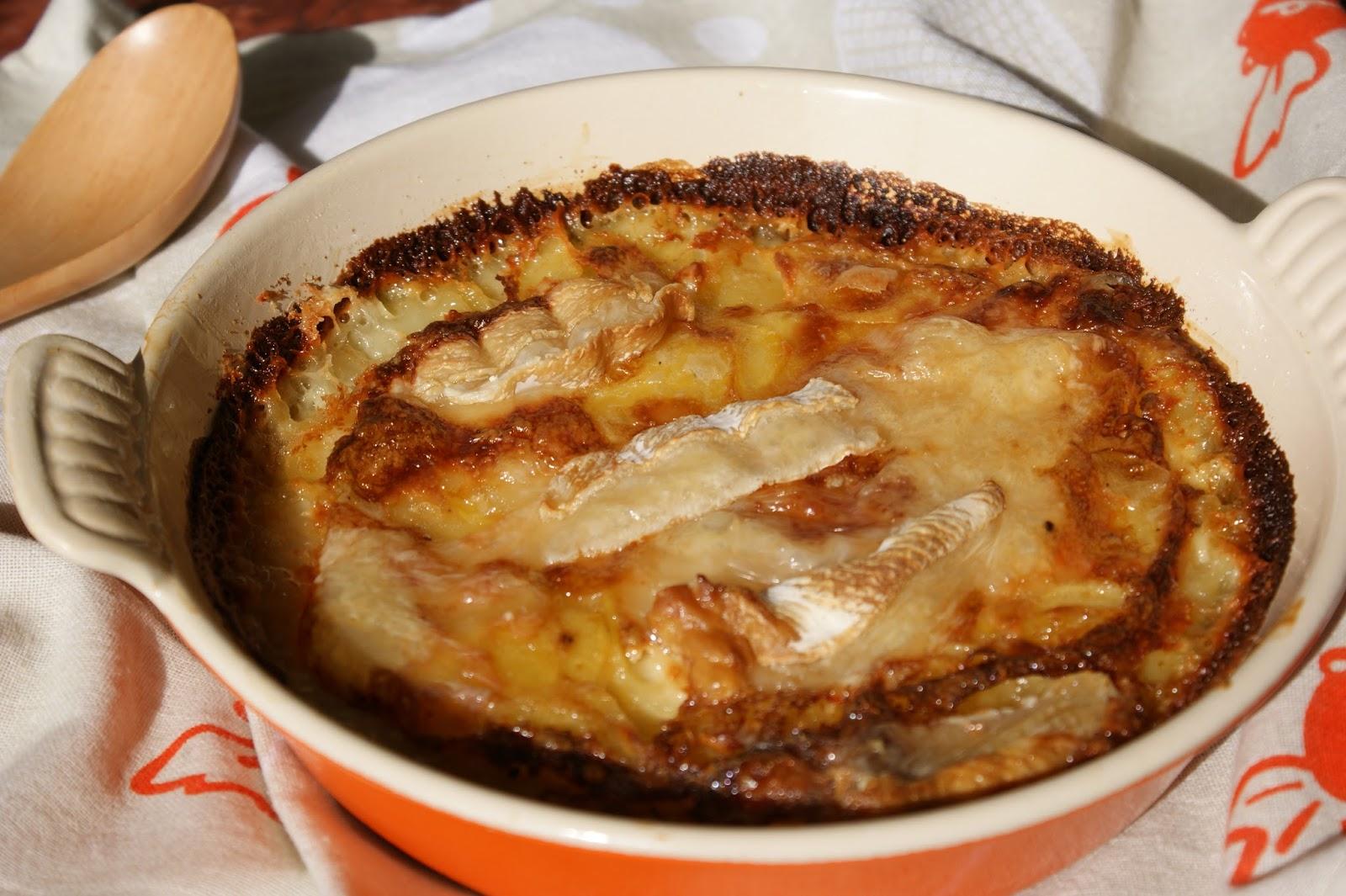 afternoon tea gratin de pommes de terre au brie de ch 232 vre