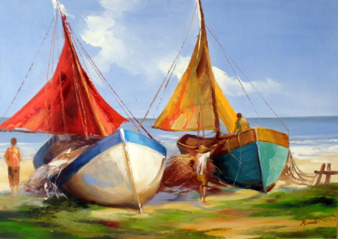 Blog 39 art maria jos barcos pesqueiros for Todo sobre barcos