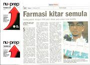 FARMASI KITAR SEMULA LOGO Kementerian Kesihatan Malaysia (KKM) LAPORKAN SEGERA