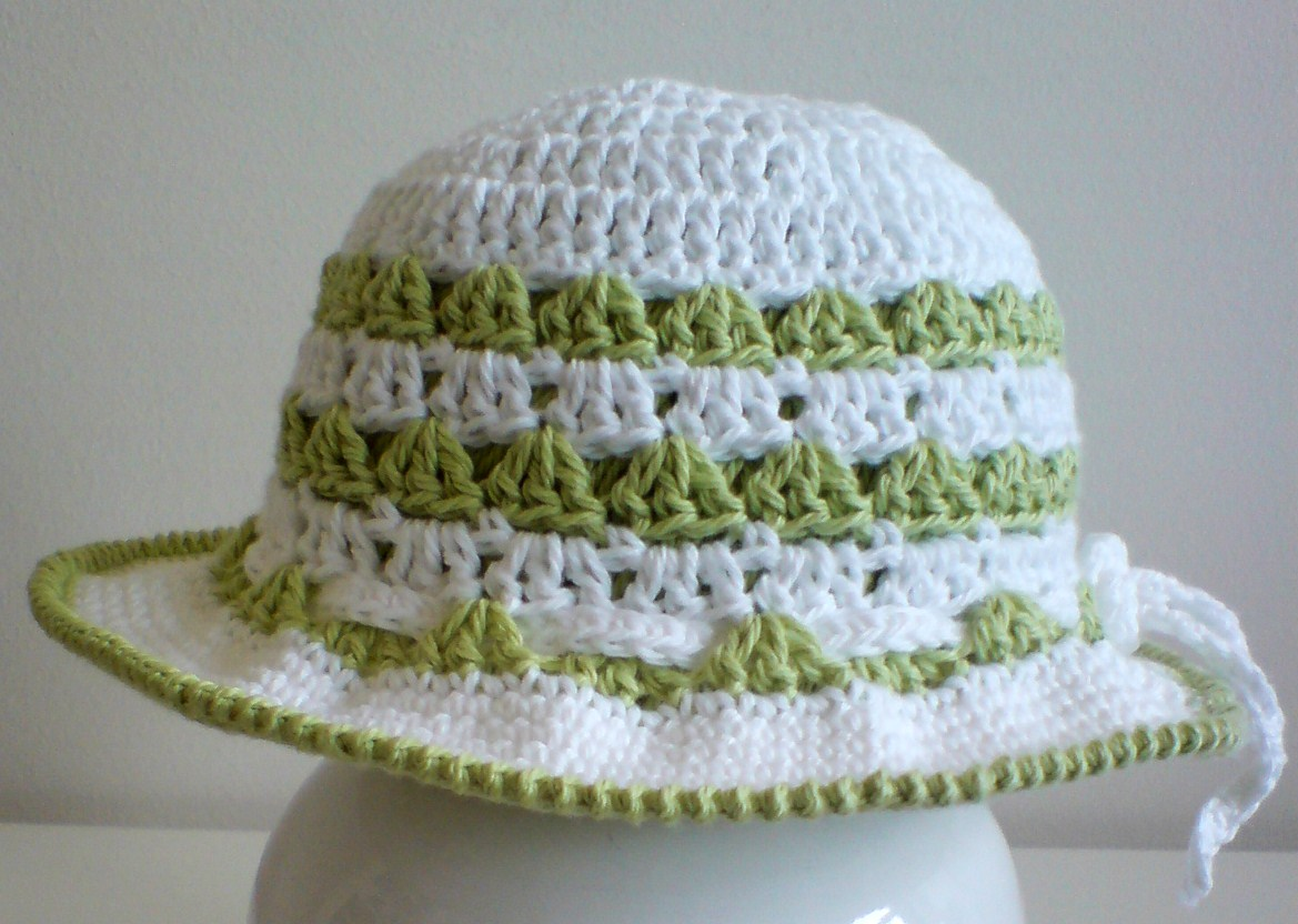 Free Zebra Print Hat Crochet Pattern : Free Crochet Sun Hat Patterns for Babies