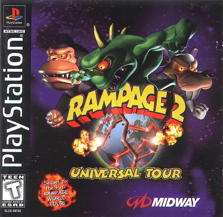 download game rampage 2 universal tour PS1 tanpa emulator