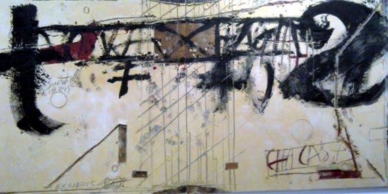 Llibre-mur, 1990. Fundació Tàpies, avui