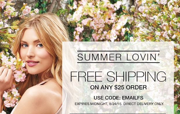 Avon Free Shipping on $25 August 24, 2015