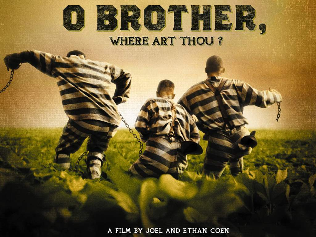 O Brother, Where Art Thou Movie Poster Chinese martial arts film