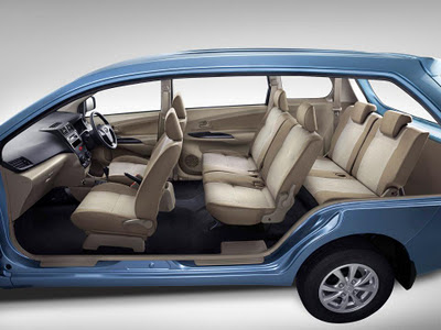 All New Avanza 2012 interior