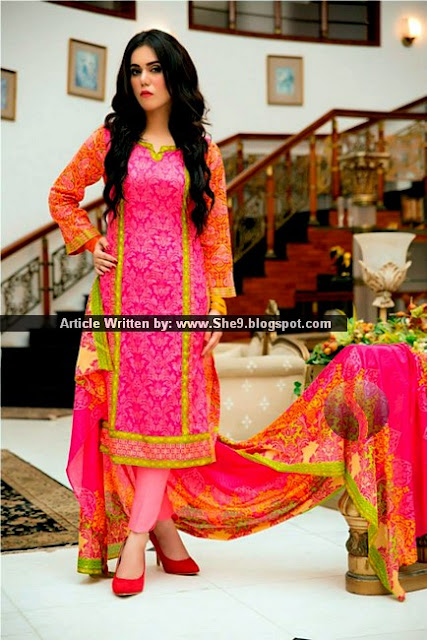 Taana Baana Eid Dress Collection 2015