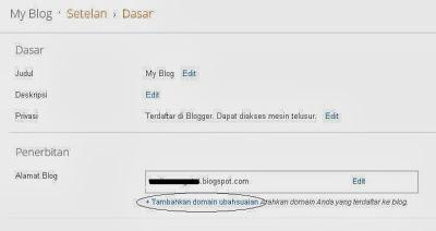 Custom Domain Blogspot 2