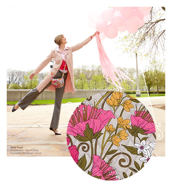 Heidi for Vera Bradley breast cancer