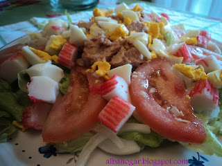 ensalada mixta albahogar
