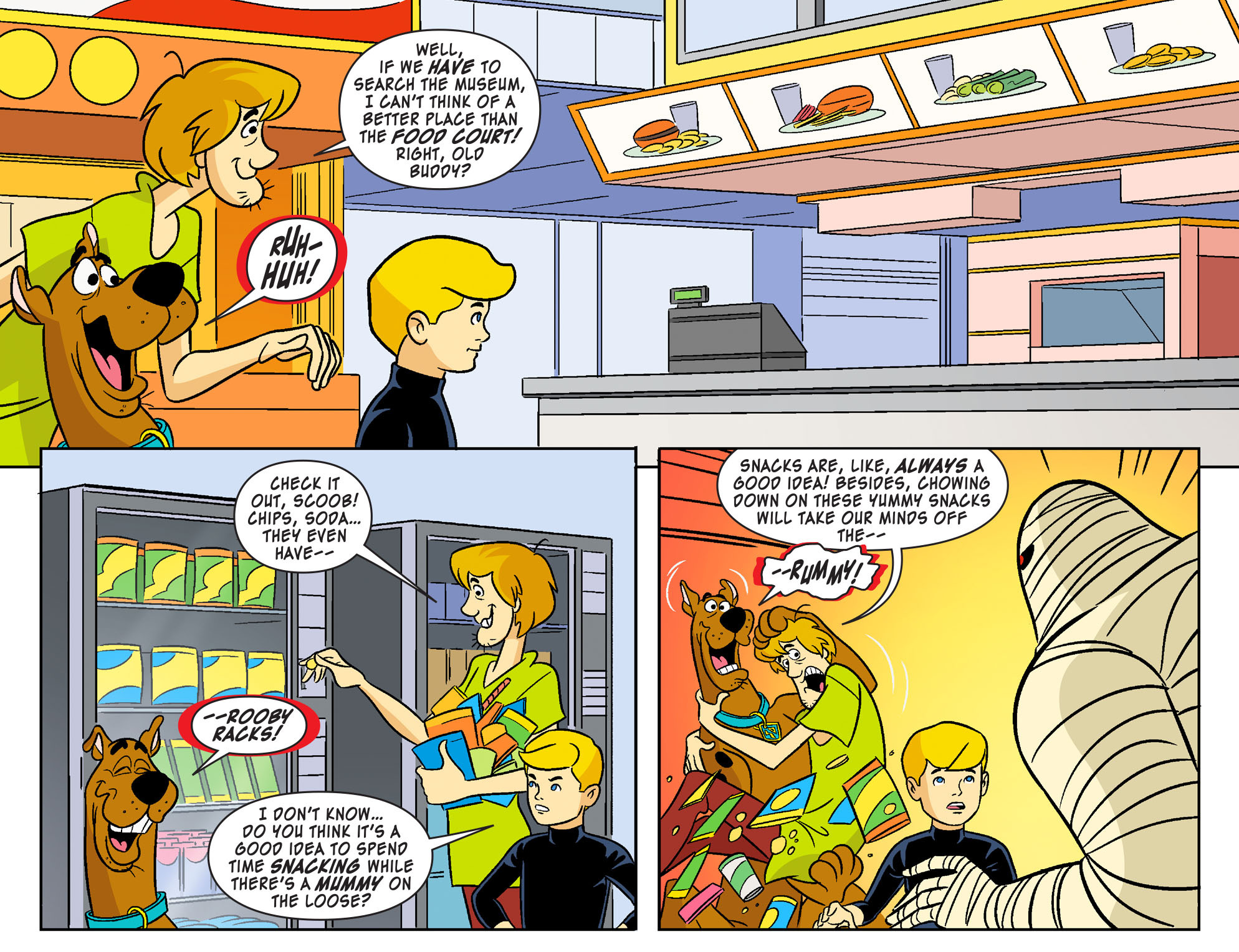 Read online Scooby-Doo! Team-Up comic -  Issue #19 - 11