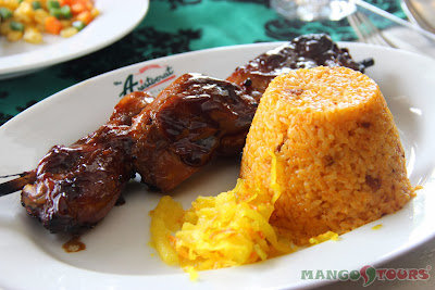 Mango Tours Aristocrat Restaurant Chicken Barbecue