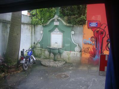 Fonte do Itororó, em Santos - SP