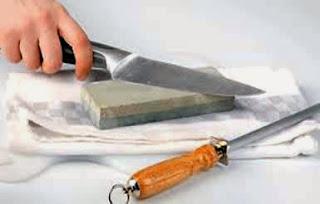 Cómo afilar los cuchillos