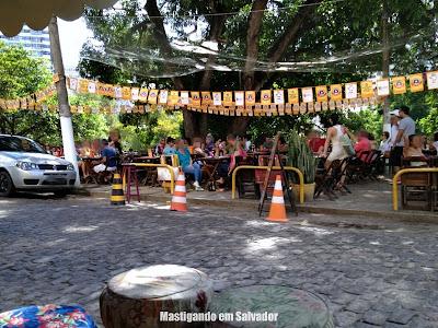 Platô Bar e Restaurante: Ambiente externo
